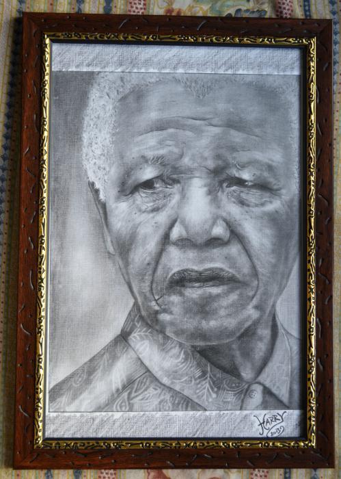Nelson Mandela by HARRY